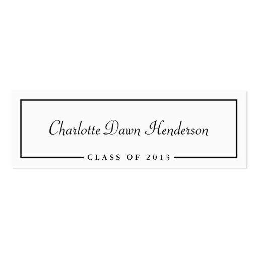 Graduation name card templates fbccfo Gallery