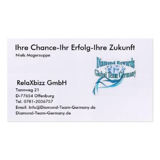 Graduation article business cards
