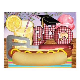 Graduation BBQ - Cookout Party - SRF Card