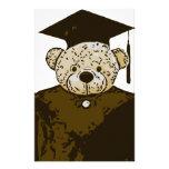 Graduation Bear Custom Stationery