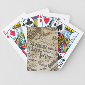 graduation bicycle playing cards