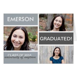 Graduation Blocks Notecard