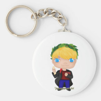 Graduation Boy Blonde (A) Key Ring
