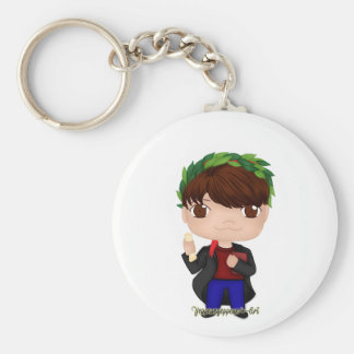 Graduation Boy Brown (A) Key Ring