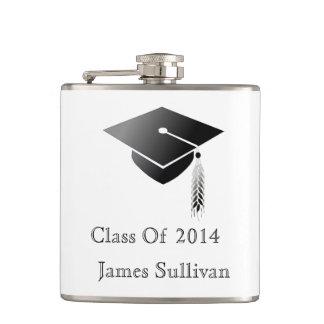 Graduation Cap Class of 2014 Flasks