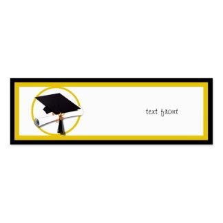Graduation Cap Diploma 1 Business Card Templates