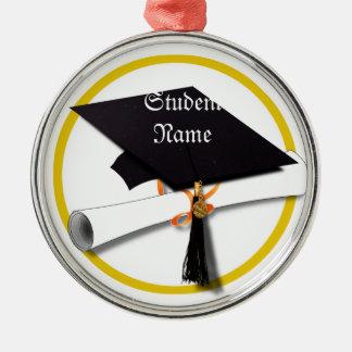 Graduation Cap & Diploma Christmas Ornaments