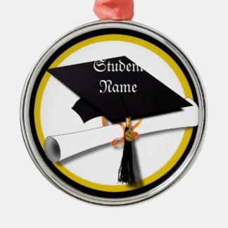 Graduation Cap & Diploma Christmas Tree Ornaments