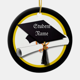 Graduation Cap & Diploma Christmas Ornament