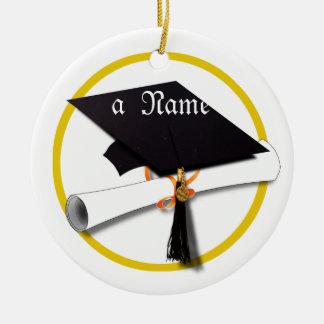 Graduation Cap & Diploma Christmas Tree Ornament