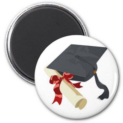 Graduation Cap & Diploma Magnets