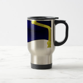 Graduation Cap Illustration Travel Mug