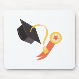 Graduation Cap Mouse Pad