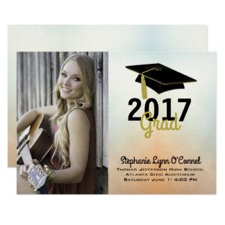 Graduation Cap Photo Graduation Announcement