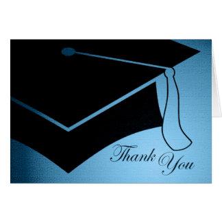 graduation cap : thank you card