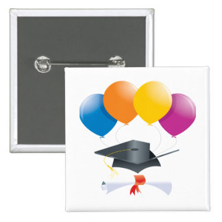 Graduation Celebration 2 15 Cm Square Badge
