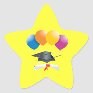 Graduation Celebration 2 Star Sticker