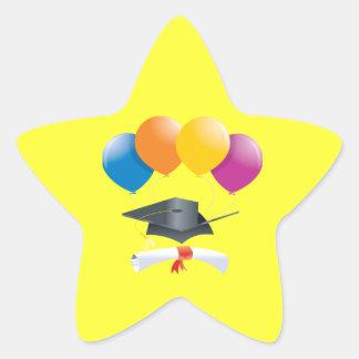 Graduation Celebration 2 Star Sticker