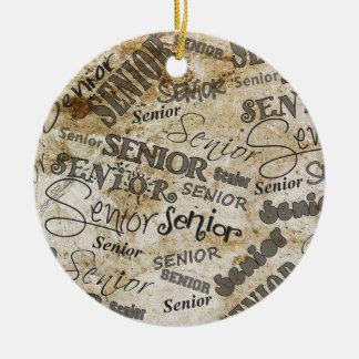 graduation ceramic ornament