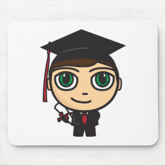 Graduation Character Mousepad