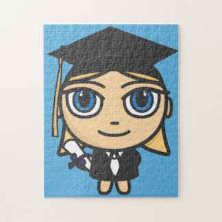 Graduation Character Puzzle/Jigsaw Jigsaw Puzzle