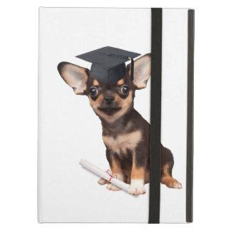 Graduation Chihuahua dog iPad Air Covers