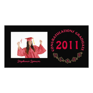 Graduation Circle Photo Cards