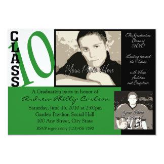 Graduation Class of 2010/ Green Photo Card