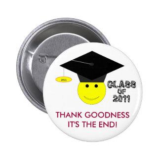 Graduation Class Of 2011 Button