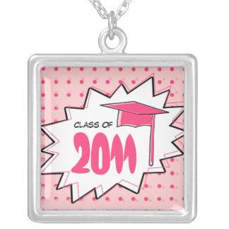 Graduation Class Of 2011 Pop Art Custom Necklace