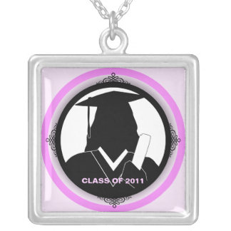 Graduation Class Of 2011 Square Necklace Gown 2
