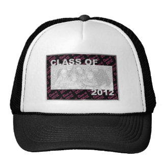Graduation - Class Of 2012 - Pink and Black Hat