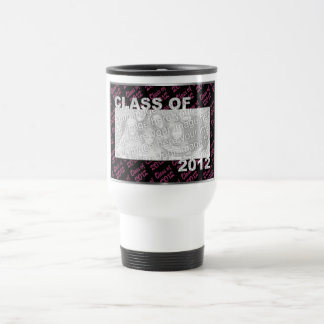 Graduation - Class Of 2012 - Pink and Black Coffee Mugs