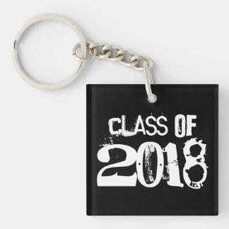 Graduation Class of 2018 keychain