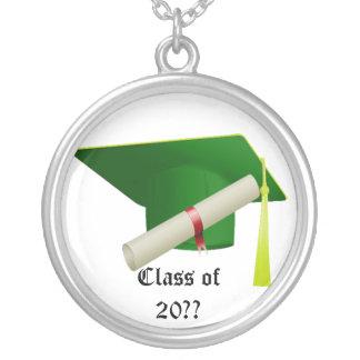 Graduation Class of 20?? Green Necklace