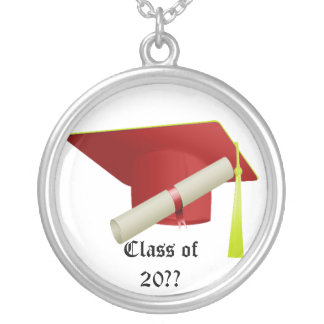 Graduation Class of 20?? Red Necklace
