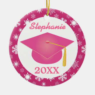 Graduation Class Personalised Snowflake Ornament