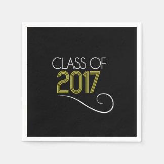 Graduation Cocktail Napkins - 2017 Disposable Serviette
