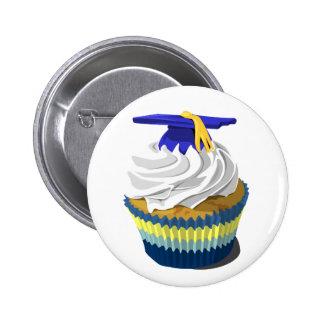 Graduation cupcake button