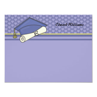 Graduation Day Personalized Thank You / Notecard