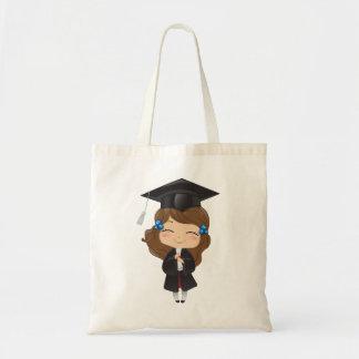 Graduation girl in black