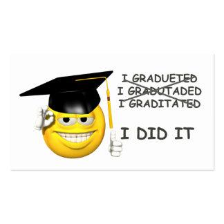 Graduation (  I DID IT ) Business Cards