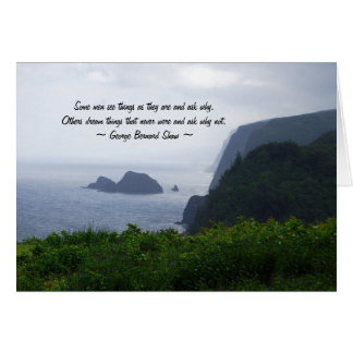 Graduation Inspiration, Hawaii Coast, Card
