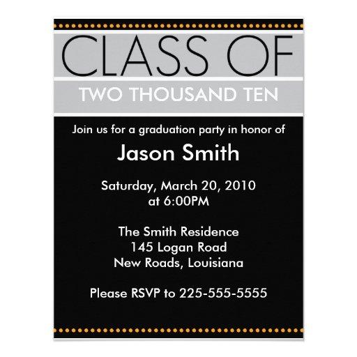 Graduation Custom Invites