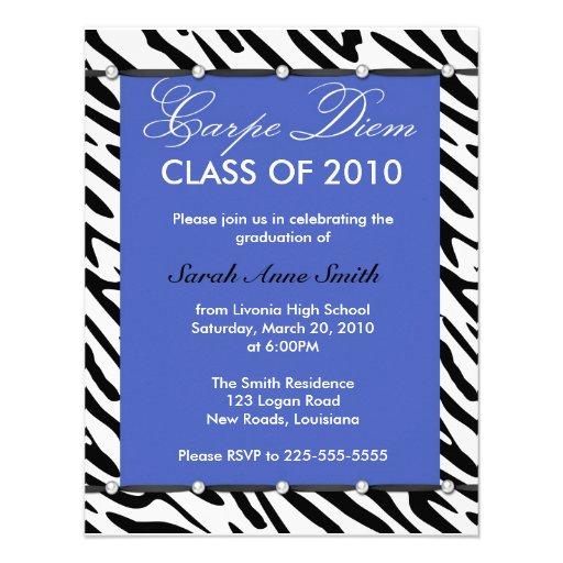 Graduation Custom Invitations