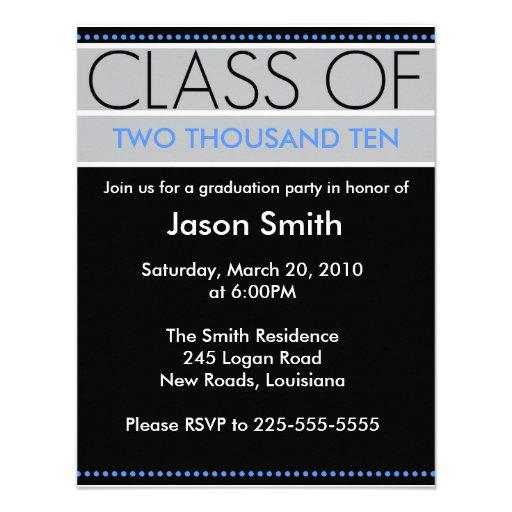 Graduation Personalized Invite