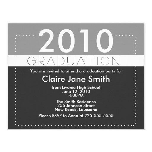 Graduation Custom Announcements