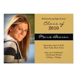 "Graduation Invitation 5"" X 7"" Invitation Card"