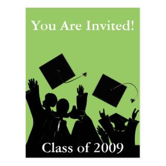 Graduation Invitation Class of 2009 Postcard