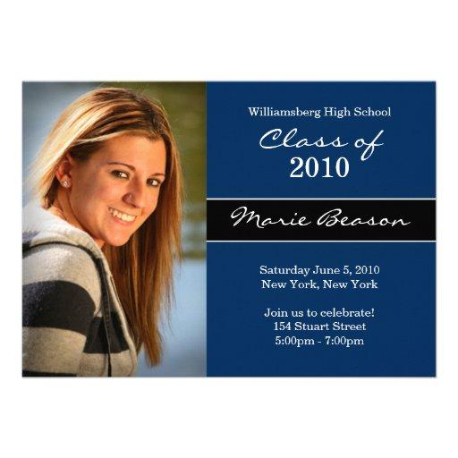 Graduation Invitation Class of 2011